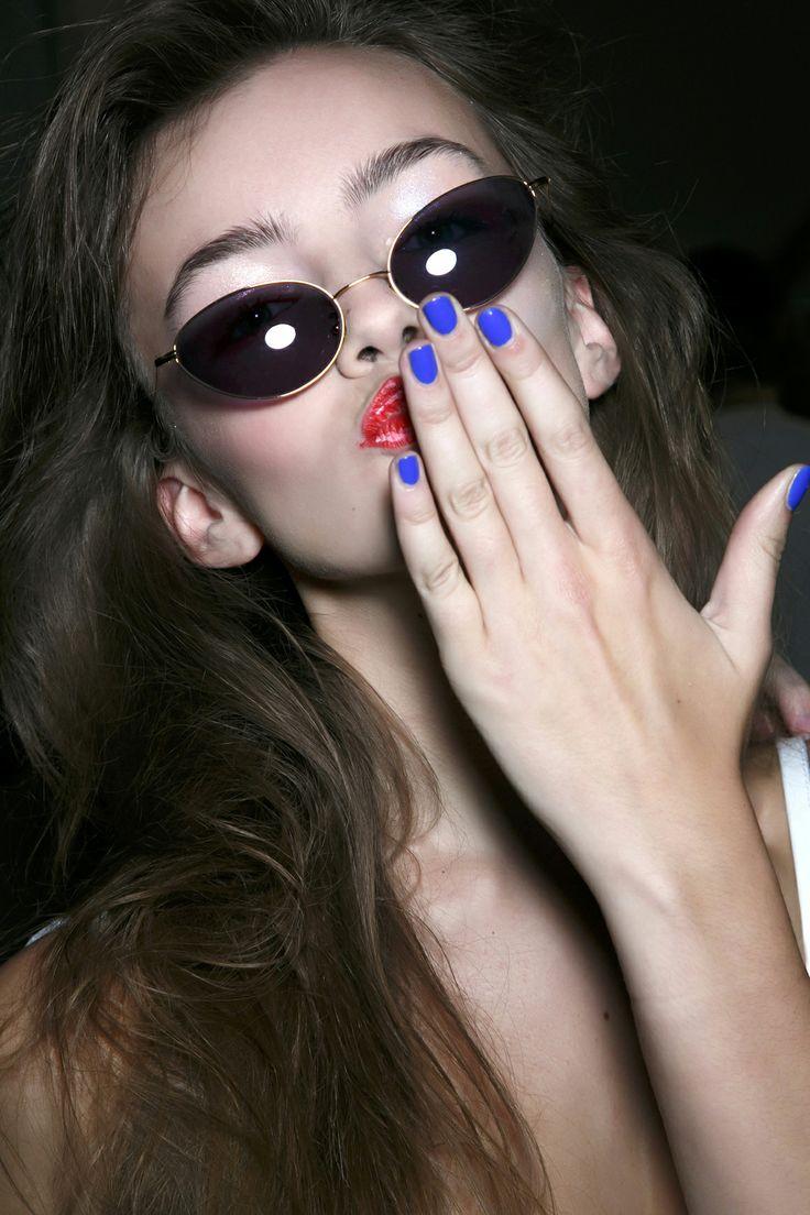Manicure: trendy wiosna-lato 2014, Fashion East , fot. Imaxtree
