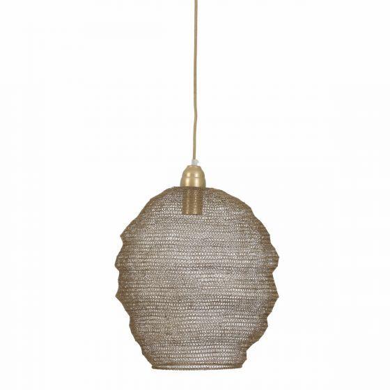 Hanglamp Nina gaas antiek brons 3072418