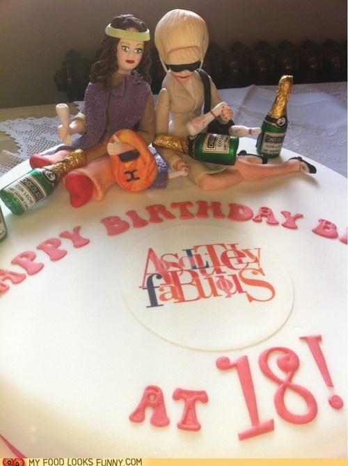 Funny Food Photos Abfab Birthday Cake Cakes Big Or
