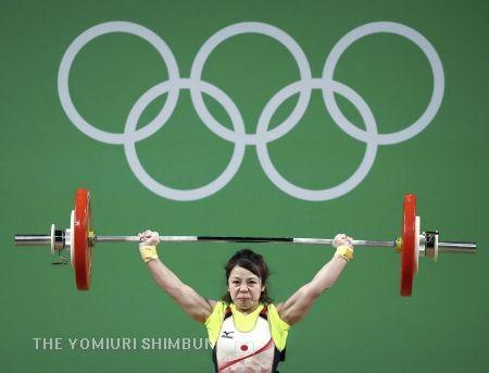 三宅宏実が銅、2大会連続メダル…重量挙げ女子 | 2016 リオオリンピック つぶやく五輪ニュース