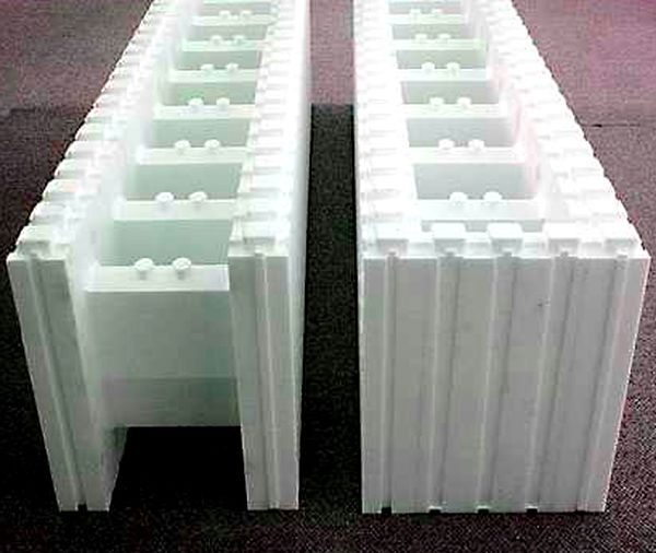 17 best images about foam concrete other innovative for Foam block wall construction