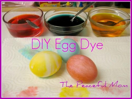 Easter DIY Egg Dye