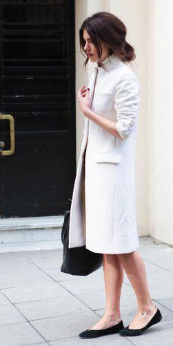 coat & flats