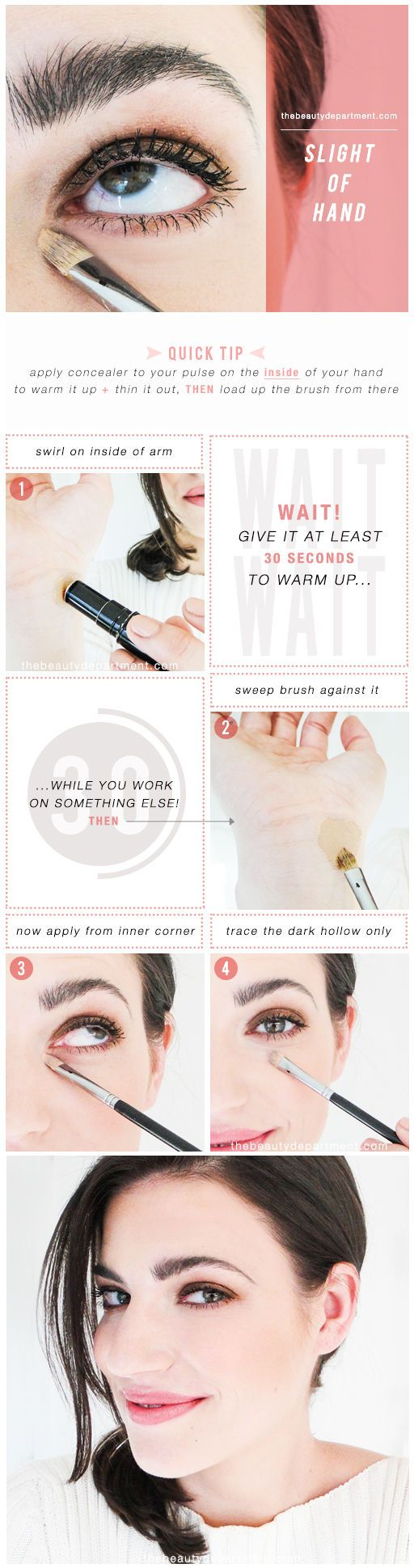 The Beauty Department: Your Daily Dose of Pretty. -   THE CONCEALER WARM UP
