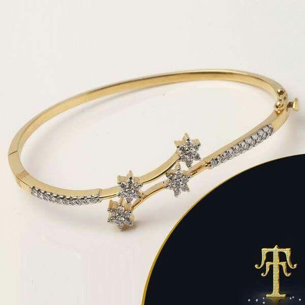 Diamond bracelet Kada