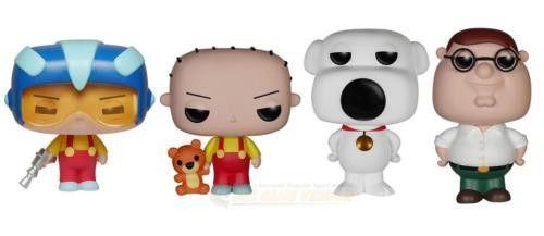 Funko POP! Television Family Guy Bundle Vinyl Figures