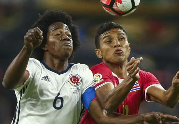 Colombia 2-1 Costa Rica: Pekerman lineup changes costly in Copa America