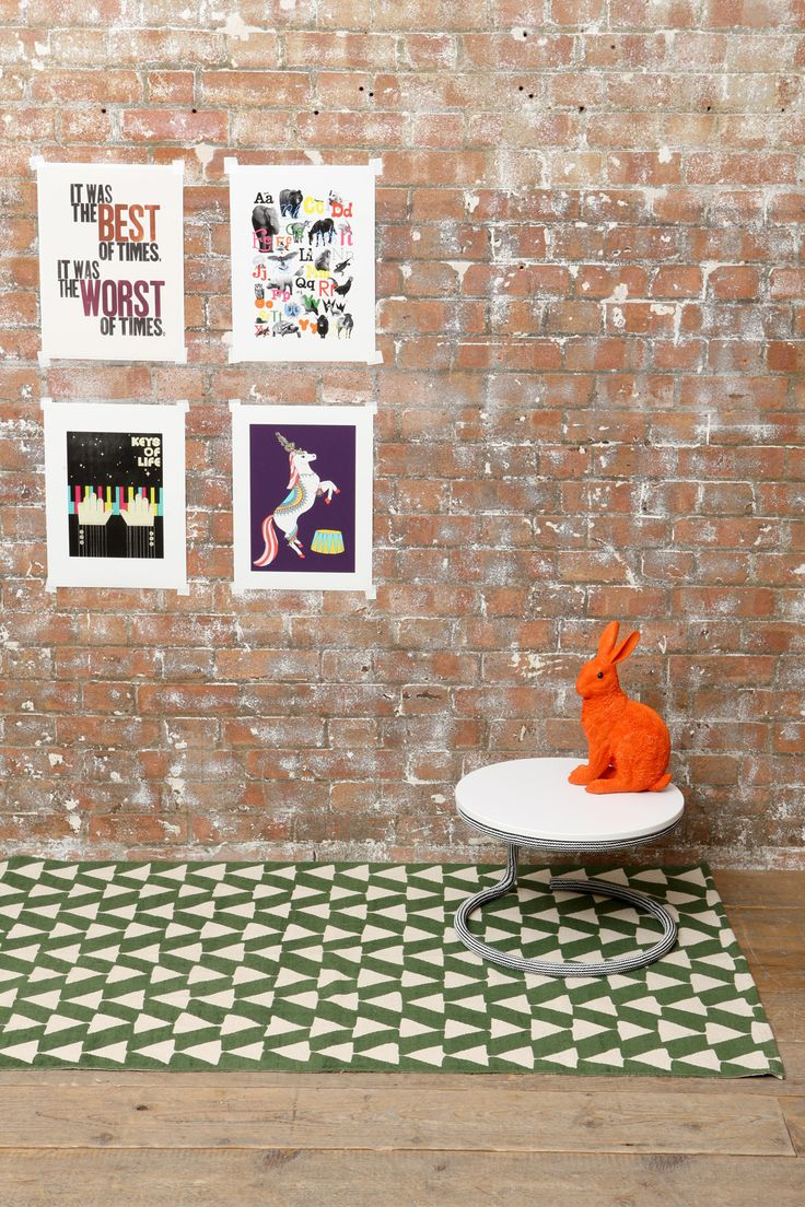 Green Arrow Rug at Urban Outfitters  Homedecorative