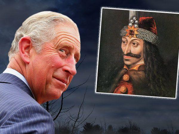 Dass Dracula ausgerechnet einmal mit Prinz Charles (63) familiär verbandelt sein würde, hätte er sich sicherlich nicht träumen lassen.