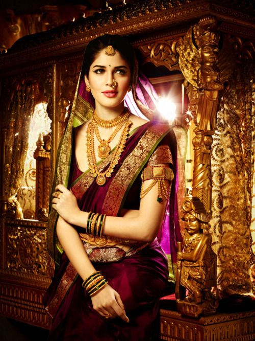 Traditional sari - again this is for you