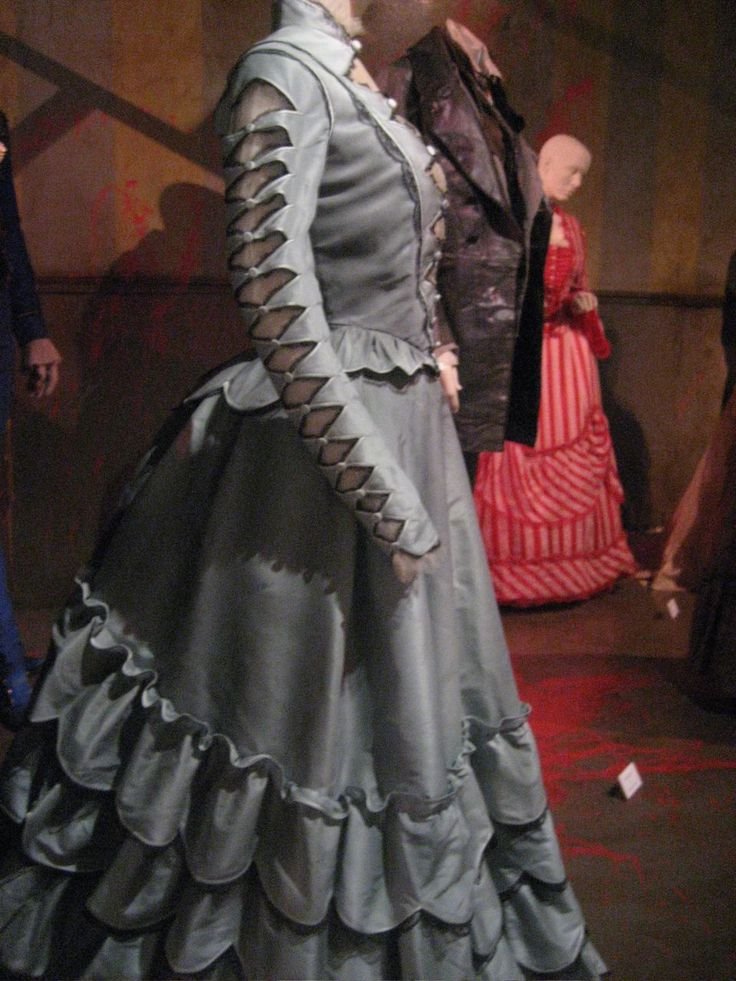 Joanna's dress from Sweeny Todd (designed by Colleen Atwood).