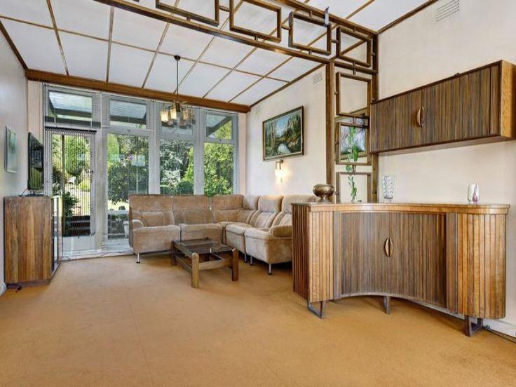 Mid Century Kew Melbourne VIC Home Dario Zoureff Jakob Rudowski Custom Cabinetry | Pinned by 360 Modern Furniture