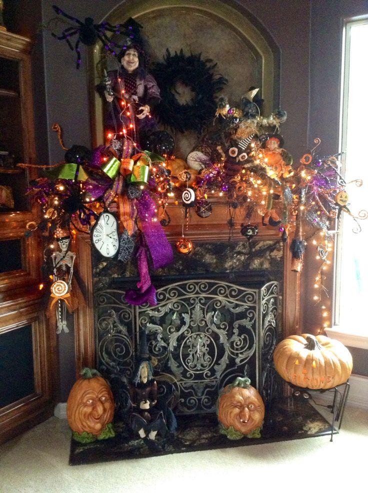 2125 best Halloween images on Pinterest Halloween prop, Candelabra - halloween indoor decorating ideas