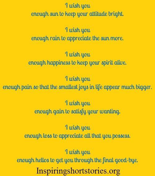 Wish Quotes, Inspirational Quotes, Inspiring Quotes