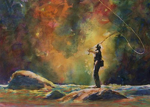 71 best images about art fly fishing on pinterest for Fly fishing casting