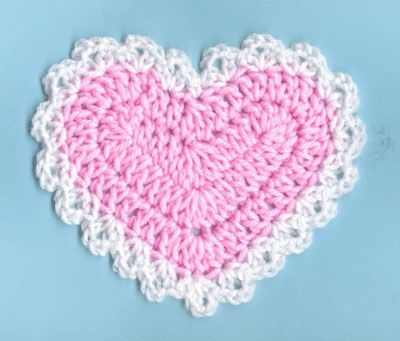 354 best Crochet Valentine Heart & More... images on Pinterest ...
