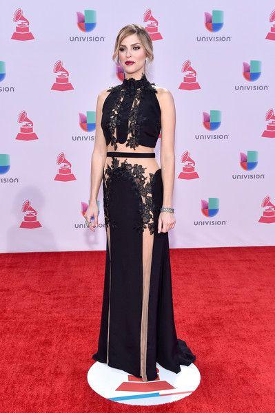 TV host/model Daniela di Giacomo attends the 16th Latin GRAMMY Awards at the MGM Grand Garden Arena on November 19, 2015 in Las Vegas, Nevada.