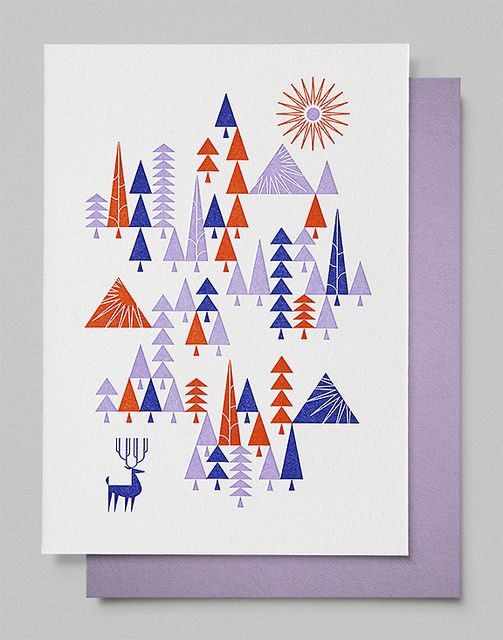 2012 Holiday Print by Brent Couchman, via Flickr
