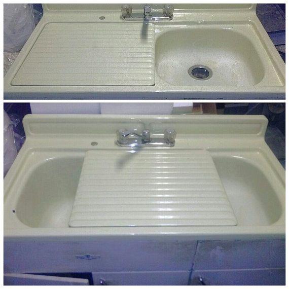 Kitchen Sink Paint Porcelain Sink Cast Iron White Paint: 1000+ Images About Antique Sinks On Pinterest