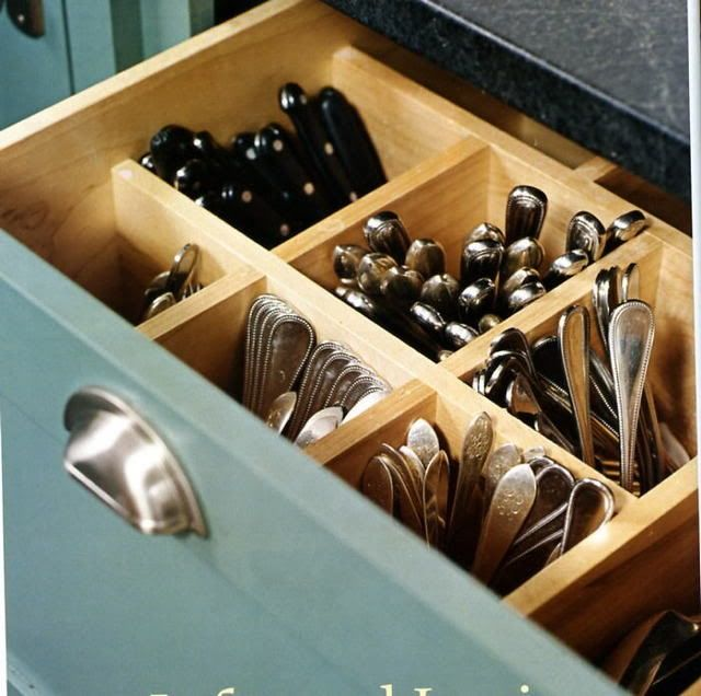 1000 images about pantry storage ideas on pinterest for Silverware storage no drawers