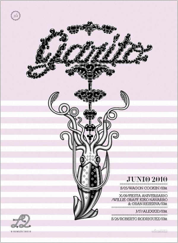Garito Café/Bitácora Series.  Part 3/June 2010 by Vicente García Morillo , via Behance
