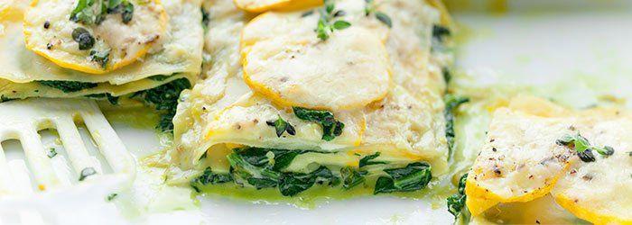 Najlepsza lasagne ze szpinakiem i cukinią   Blog   Kwestia Smaku