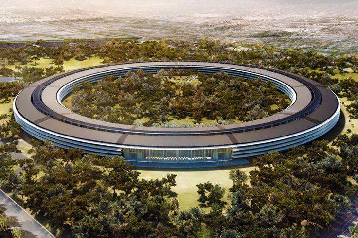 "Apple strives to make its new Cupertino campus ""the greenest building on the planet."" But is the project as environmentally sound as it can be? Alexandra Lange explains: http://nyr.kr/10k8BlL (Photograph courtesy City of Cupertino)"