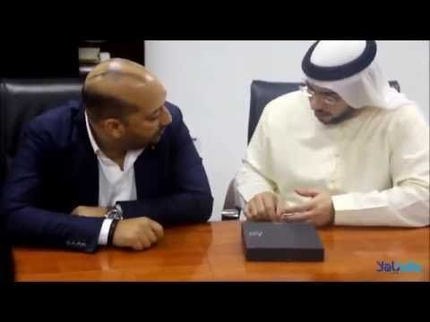 Unboxing of the first YaHalla SmartPhone