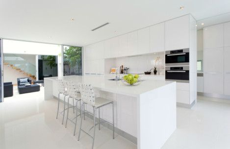 Modern White Kitchen Island Vzozfjm