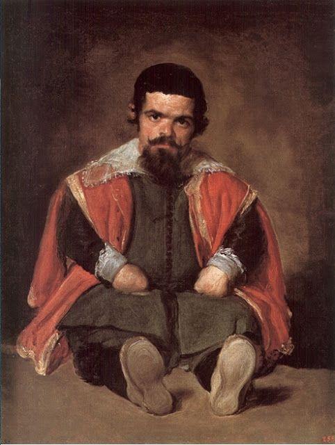 Desde el otro lado del cuadro: El bufón Don Sebastián de Morra - Diego Velázquez