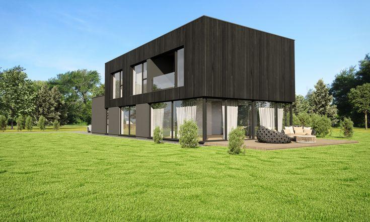 Modern house. #funkishus