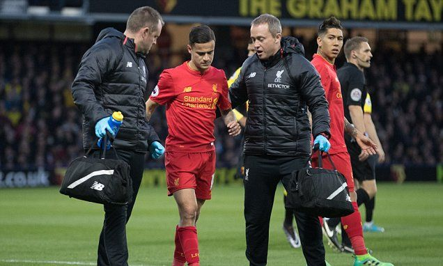Liverpool FC news: Philippe Coutinho could return Sunday