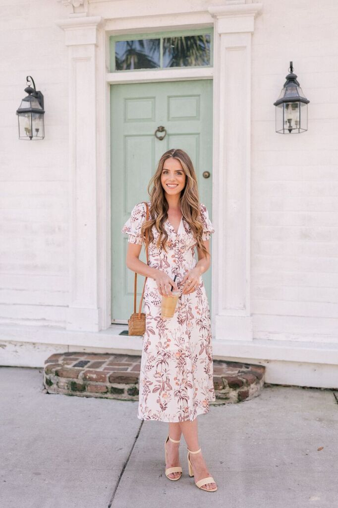 267aed192d47 New spring dresses by Charleston blogger Julia Engel of Gal Meets Glam.