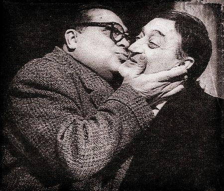 Con Aldo Fabrizi.