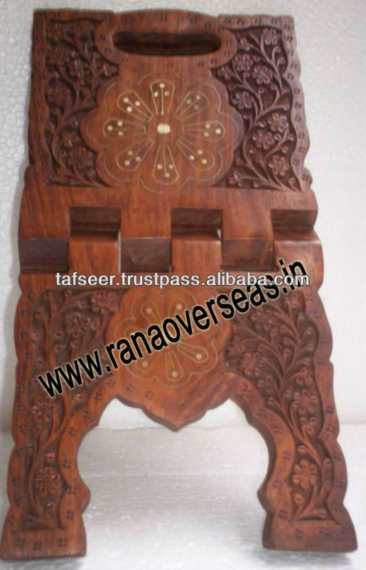 Wooden Holy Book / Quran / Bible Stands