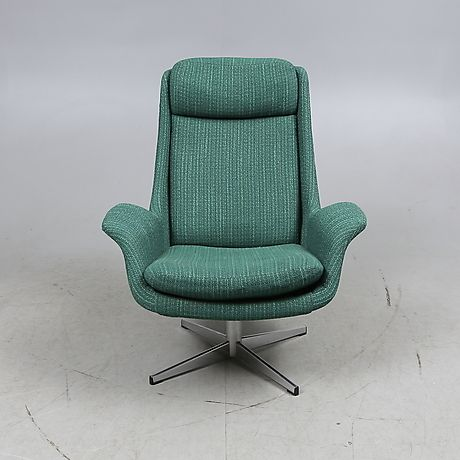 SNURRFÅTÖLJ, 1960/70-tal. Möbler - Fåtöljer & Stolar – Auctionet