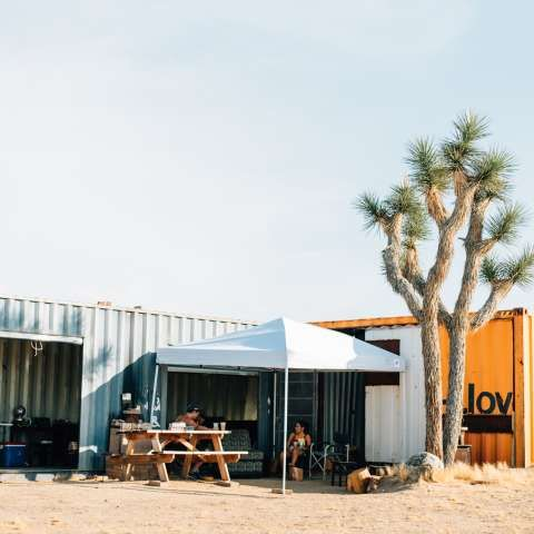 Check out this Hipcamp in California: Camp Ruffin' it Joshua Tree, @Camp Ruffin' It  - Private comfy dog friendly camping property!   Bring your friends and family to our unique piece of Joshua Tree land with vast beautiful views and...
