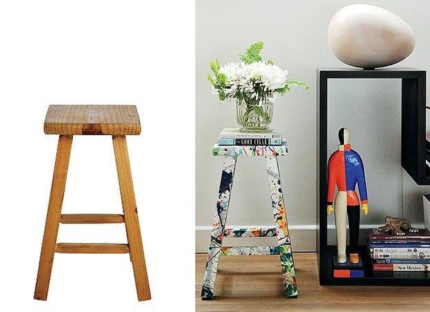Recicle os móveis antigos, em vez de descartá-los