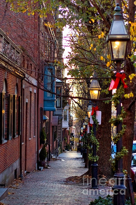 Beacon Hill. The most unattainable address in Boston... in th US?  World?