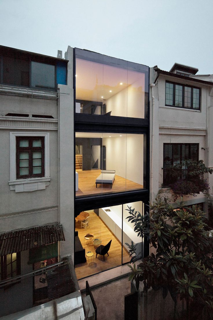 Wohnhausrenovierung in Schanghai, Rethinking the Split House, Neri & Hu, China, 2014, Ansicht, Foto Pedro Pegenaute