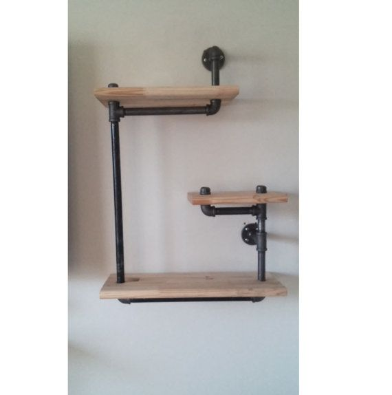 Unique Plumbing Pipe Shelf By Seigfreids On Etsy Club45