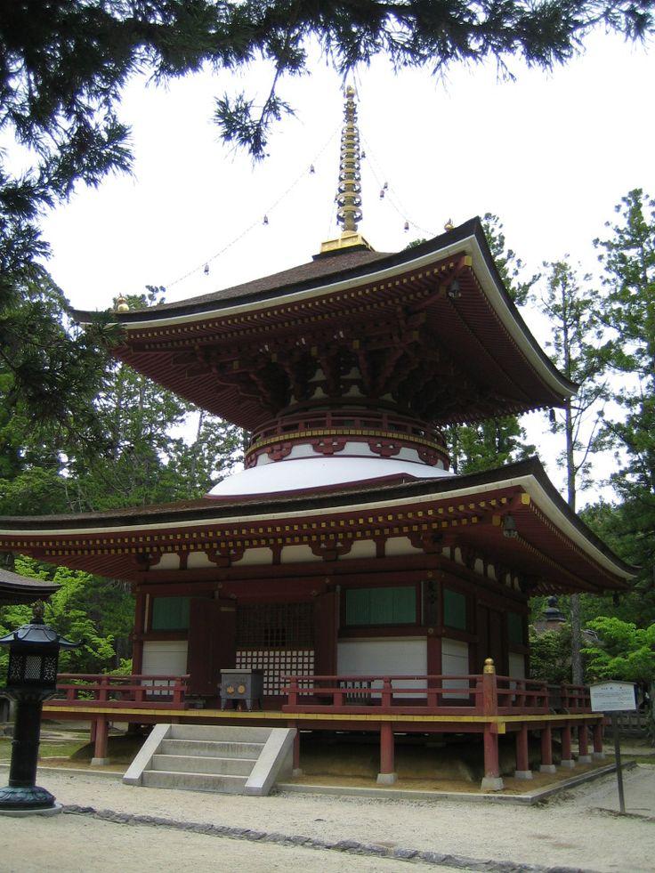 高野山・金剛峯寺 東塔(とうとう)