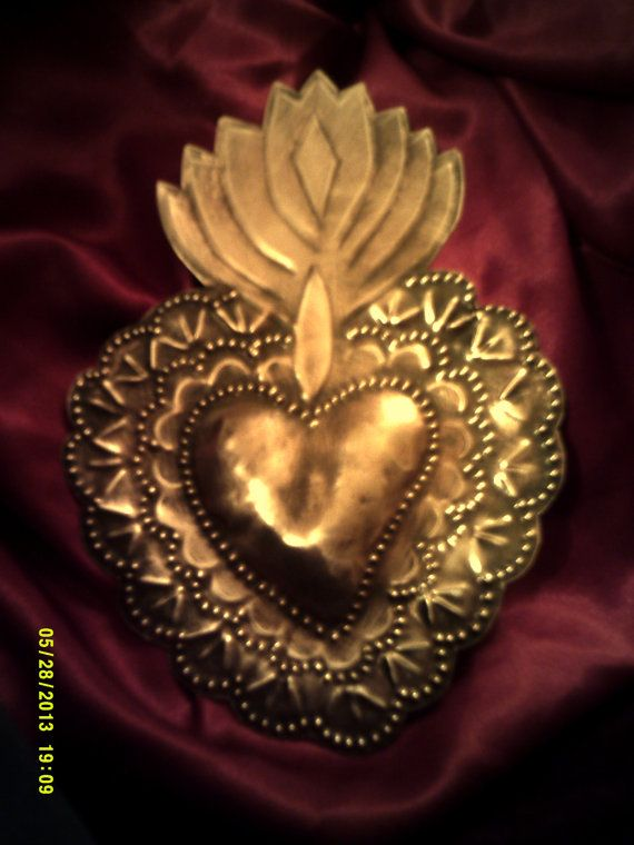 Sacred Heart with Dollie Edge. by giftedhandsstudio on Etsy
