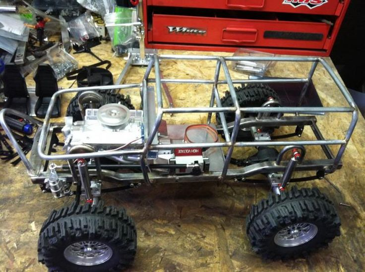 Homemade Scout Crawler Build With Wraith Axles And Leaf
