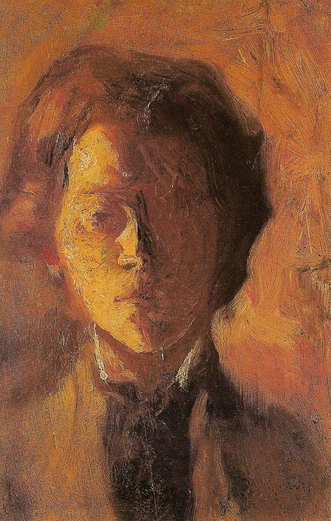 jozef witkacy- autoportrait