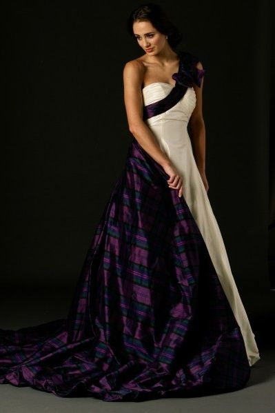 Our Tartan Spirit Couture wedding dresses and dresses for bridesmaids and mothers of the bride are perfect for Scottish themed weddings. Description from joyceyoungcollections.co.uk. I searched for this on bing.com/images