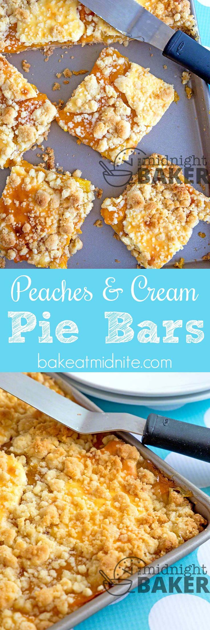 These peaches and cream pie bars are perfect for when you can't decide whether you want pie or cheesecake! Pie Or Cheesecake If you want pie, but you're hankering for cheesecake too, these peaches and cream pie bars are just what the doctor ordered! You get a little bit of both here with a great...Read More »