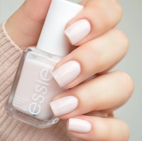 Delicate, sheer essie bridal nails - it's the picture of perfection.   DBP, Toluene and Formaldehyde free.    For the full essie range, head to: www.essie.com.au