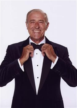 Len Goodman, born April 25, 1944 in Bethnal Green in the East End of London, he started dancing at the age of 19. He married his dancing partner Cherry Kingston (now divorced) and has a son James (1981), his second wife was Lesley (mother of James) and is now married to his third Sue.