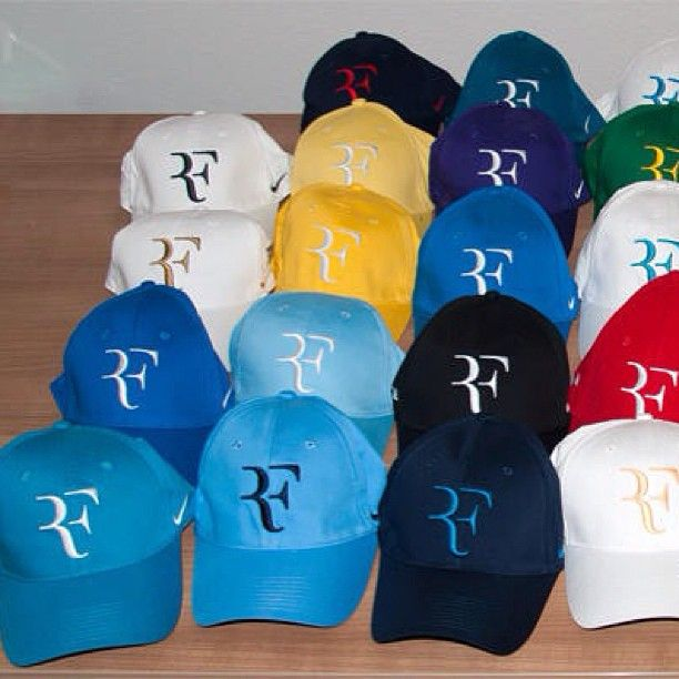 #RF #cap #caps #hat #nike #niketennis #tennis #rogerfederer #federer